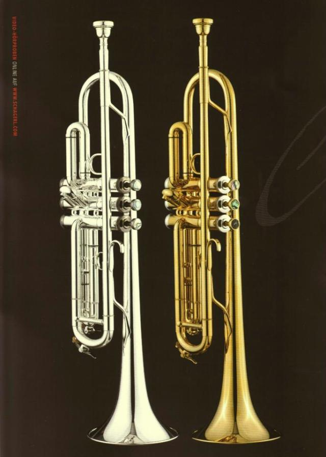 The Schagerl Nodus 1 & 2 trumpet range. Designed exclusively for & by Aneel Soomary