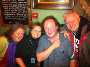 Vanessa King, Annette Brown, Me & The great Mike Lovatt