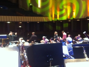 RLPO & stellar guests rehearsing 'The John Lennon Songbook'