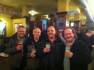 RLPO trumpet section 'John Lennon Songbook' - Mike Lovatt lead, Paul Marsden 2nd, Brendan Ball 3rd & Rhys Owens 4th