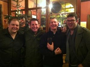 RLPO  trombones for John Lennon Songbook - Mick RTE Marshall, Simon Cowen, Simon Chappell, & John Stokes lead.