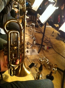 Who would of though that 'Beauty and The Beast' featured three cornet doubling parts in the trumpet pad?