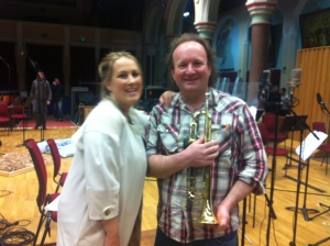 Brendan & the lovely Diana Damrau