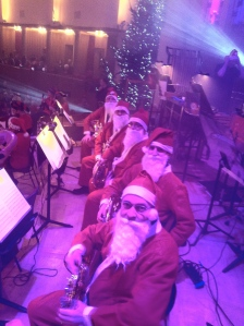 The French Horn Section - oh for God's sake SMILE!