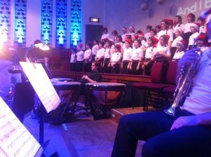 The Melody Makers & The Philharmonic Training Choir - both tremendous ensembles are for primary school age children