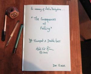Making history _ the brand new score to 'The Consequences Of Falling' by Ailis Ni Riain