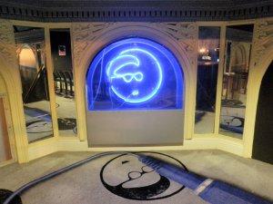 The famous Dizzy Gillespie logo