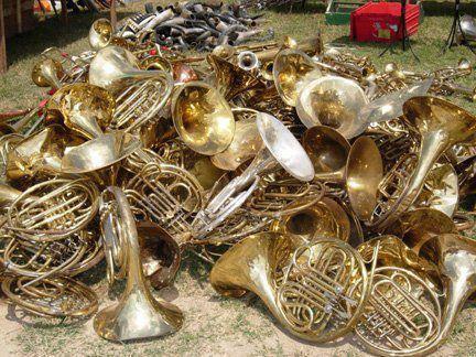 French Horn Graveyard!