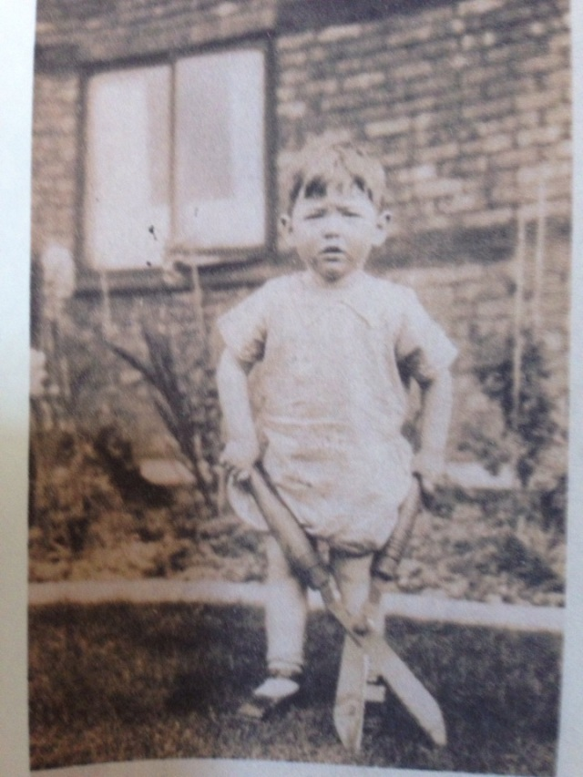 The earliest known picture of Alan Stringer MBE