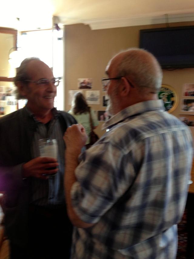 Slide partners - two retired RLPO 2nd trombones - Steve Wortley and Blyth Lidsay