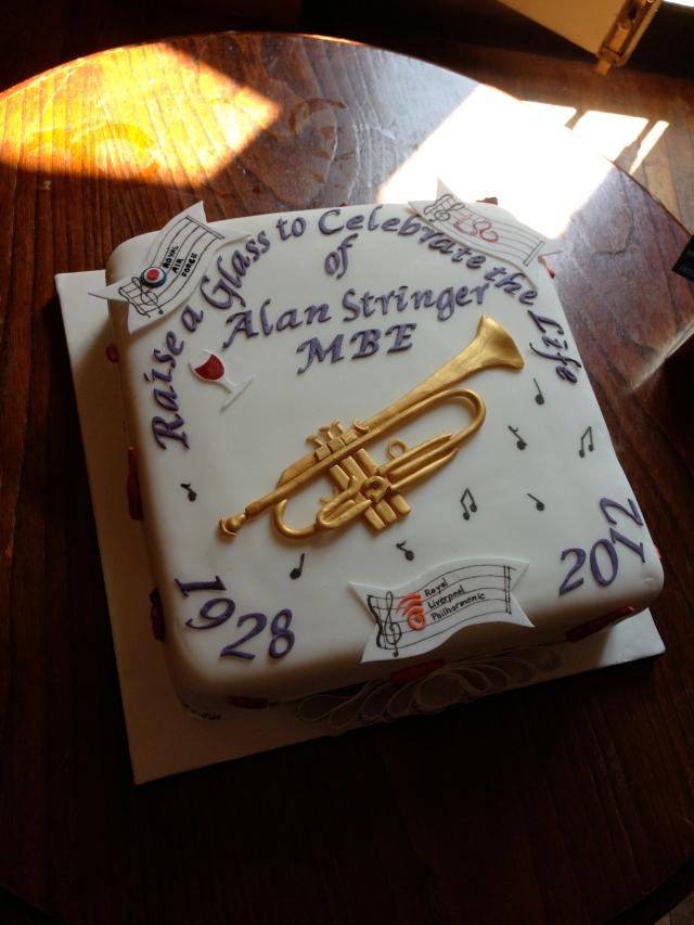Great tribute cake!