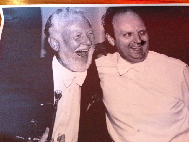 Alan's laughter was so infectious he could even have 'scary' maestro Marek Janowski in stitches!