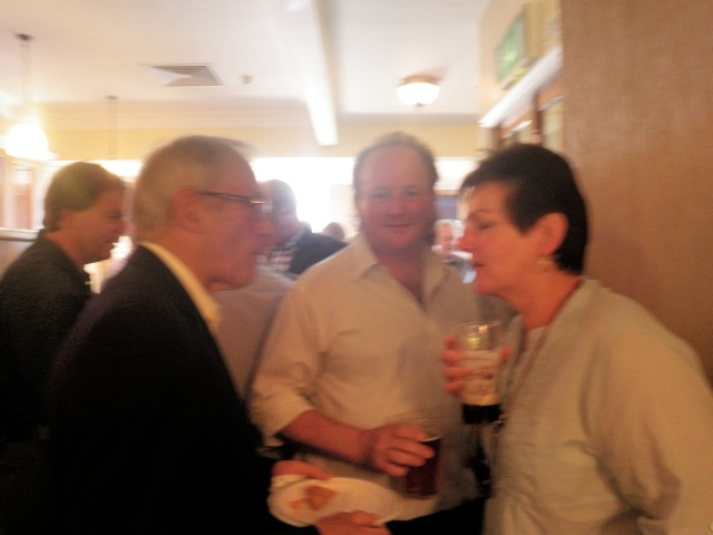 Dave Chatterton, John Dickinson, Myself and Head of Liverpool Music Service Louise Hough