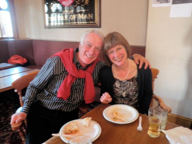 Ian Wright & Jenny Marsden again!