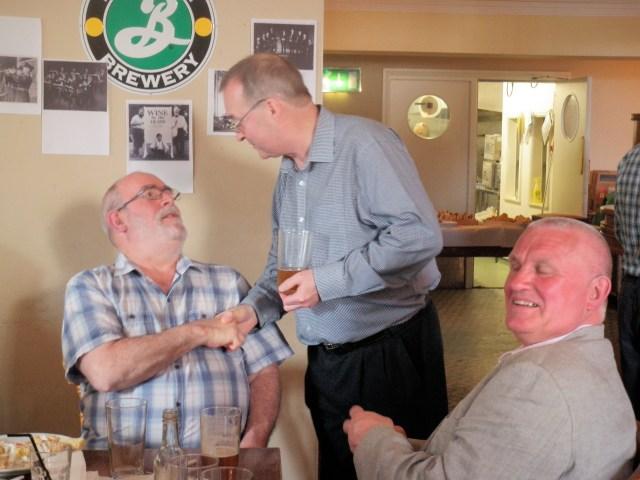 Blyth Lindsay, Dave Pigott and John Langford