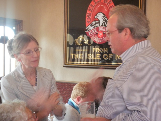 Former Principal Piccolo Myra Bennett talking about the RLPO days with former Principal Trumpet Ian Balmain