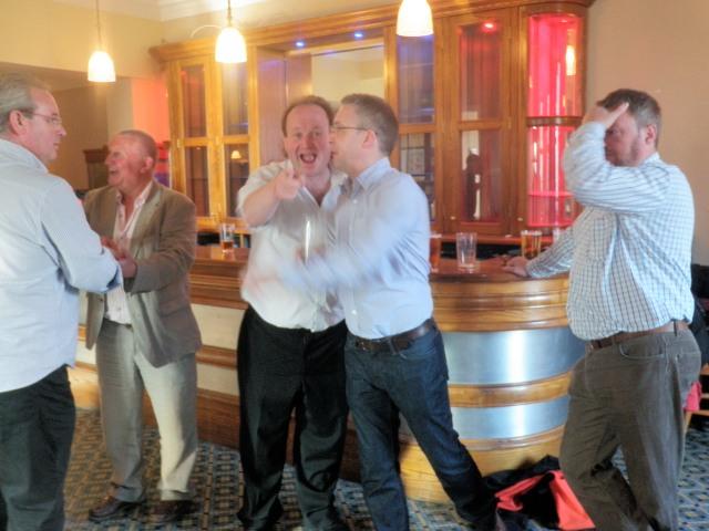LAST ORDERS!!! Ian Balmain, Me, Dave Carstairs, & Murray Grieg.