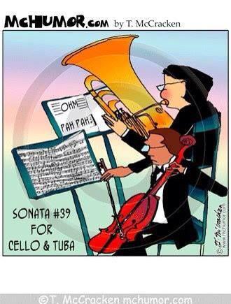 Cello & Tuba duets!