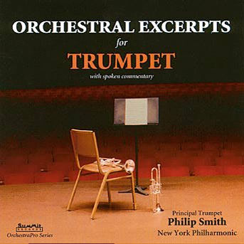 Orchestral excerpt books and accompanying CDs are readily available