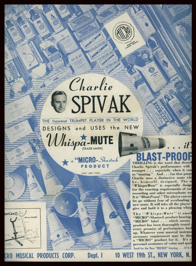 Original advert for the 'Whispa' mute