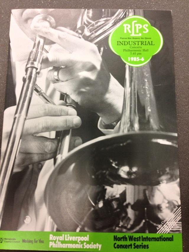 RLPO former Principal Trombone - Eric Jennings