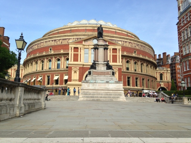 The Royal Albert Hall - scene of the RLPO/In Harmony BBC Prom 66