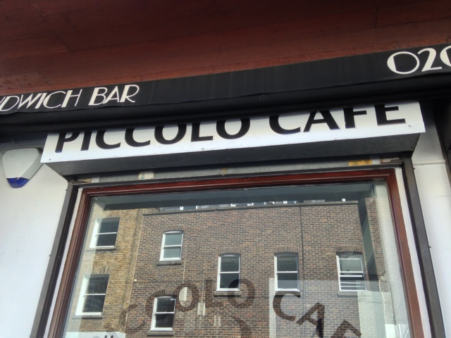 'Piccolo' Cafe!