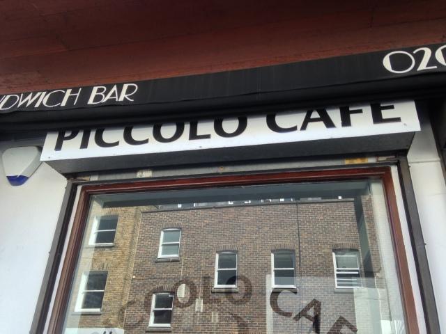 'Piccolo' Cafe!