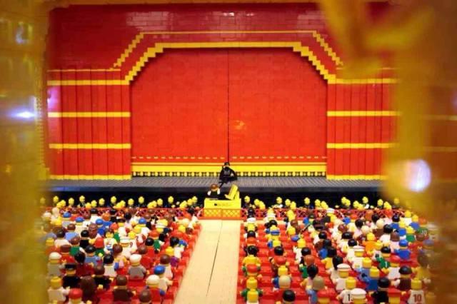 Lego La Scala Milan!