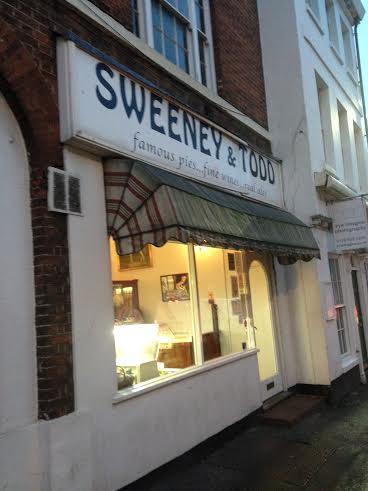 Sweeney Todd's Pie Shop!