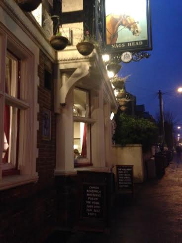 The best pub in Reading - The Nag's Head