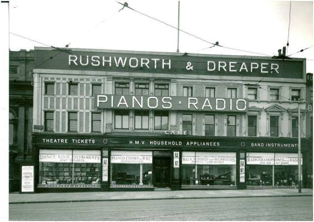 Rushworth & Dreaper - piano shop