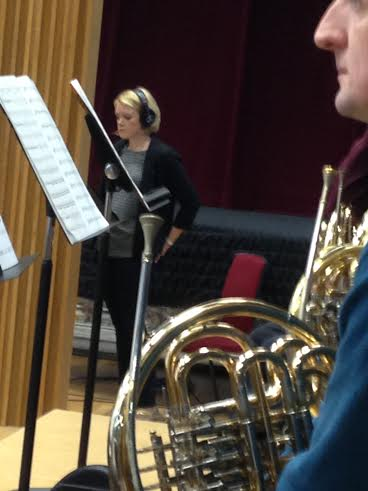 Soprano soloist Kathryn Rudge and RLPO Principal Horn Tim Jackson