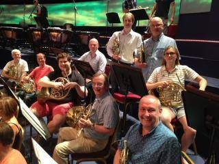 RLPO horn section for Festliches Praeludium