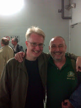 Our mellifluous Sax Soloist Simon Haram and RLPO FRench Horn Chris Morley (in his Greenalls Band T-shirt)