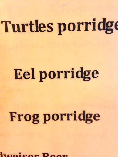 Unfortunate translation
