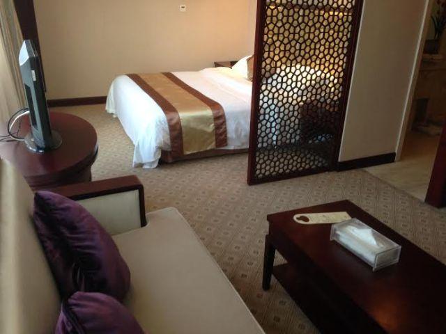 My 'generous' room in Nanjing