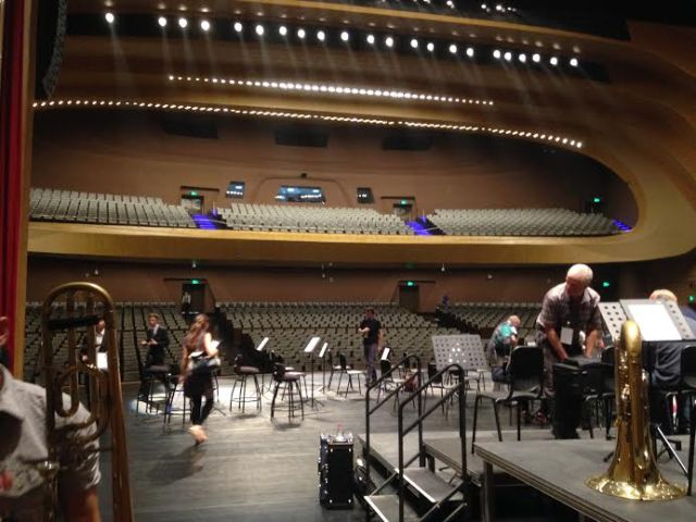 Inside the all new Golden Concert Hall