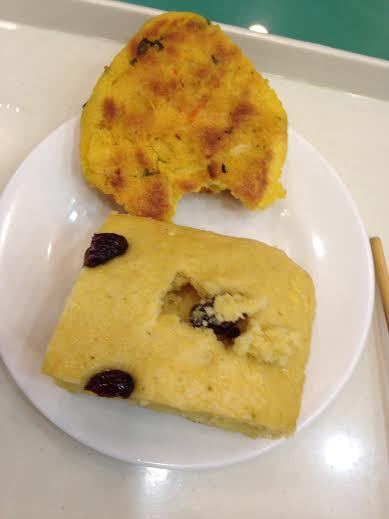 The recommended breakfast in the Chinese bakery