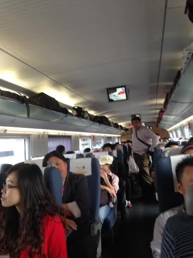 Aboard the bullet train