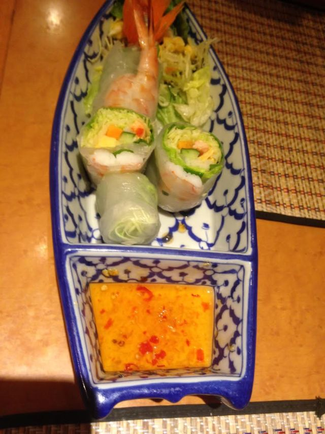 Selection of Spring Rolls