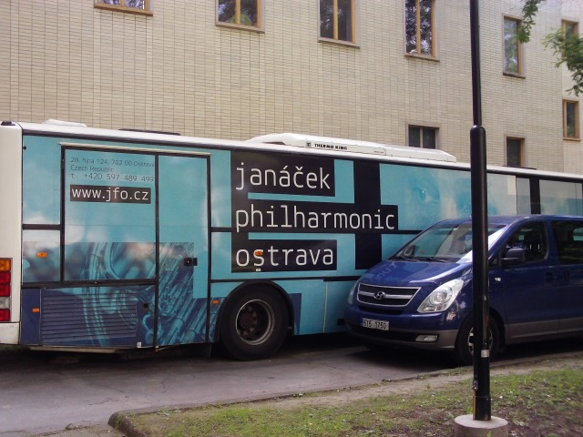 The Janacek Symphony Orchestra Bus