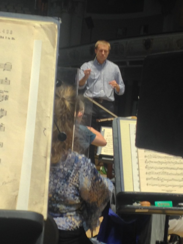 Vasily puts the RLPO through it's paces in Elgar 1