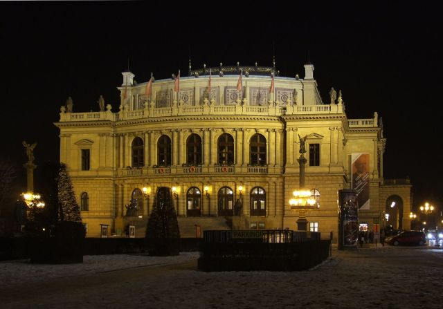 The Rudolfinum, or Dvorak Hall - home of the Czech Philharmonic
